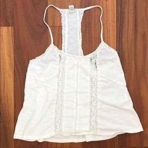White Lace Tank (FREE WITH PURCHASE FROM CLOSET)